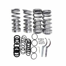 Front Rear Suspension Coilover Lowering Spring Sleeve Kit Honda 88-00 Civic Gray