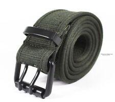 High Quality MENS MILITARY CANVAS WEB BELT Metal Buckle_B25 Long durable