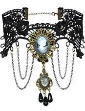 Jawbreaker  Gothic Cameo Lace necklace choker gothic steampunk  BABYDOLL