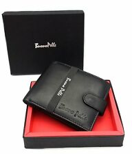 Men Wallet Coin Pocket Purse Pouch RFID Blocking Money Holder Credit Card Safety