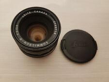 Obiettivo LEITZ Canada Summicron-R 1:2/50 2780718 adatto Leica R