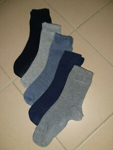 Damen  Freizeit Socken ESPRIT + S.OLIVER 5er-Pack Cottonmix farbl.sort. Gr.35-38