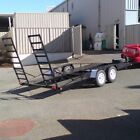 PLANS - EASY TO BUILD YOUR OWN CAR TRAILER