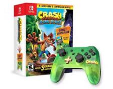 Nintendo Switch Crash Bandicoot N-Sane Trilogy 3 Games & Controller Bundle NEW!