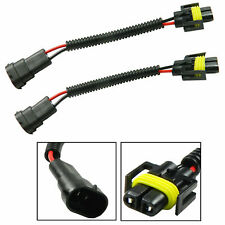 H8 H9 H11 Extension Cable Wire Harness Sockets Adapters Connector For Headlight