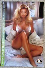 ANNA MARIE GODDARD ORIGINAL 1994 COMMERCIAL POSTER PLAYBOY SEXPLOITATION EX
