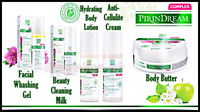 Facial Wash Gel Clean Milk Body Lotion Butter Anti Cellulite Pirin Dream Complex