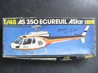 Maquette Heller 1/48 AS350 ECUREUIL ASTAR  - 2 versions