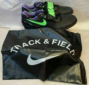 NEW Nike Zoom Rotational 6 Shotput Discus Shoes & Bag Men's Size 11.5 685131-035