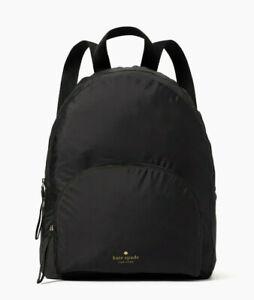 Kate Spade arya packable nylon backpack ~NWT~ Black