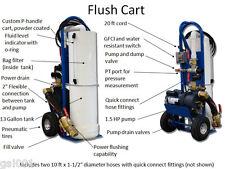 Geo Flo Premier Geothermal Flush Cart includes hoses 1.5 hp pump