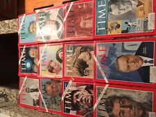 11 OLD VINTAGE TIME MAGAZINES 1966-1969 GREAT VALUE! GREAT SHAPE