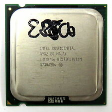Q9GZ Intel Confidential Engineering Sample CPU - Socket 775 Wolfdale E8500