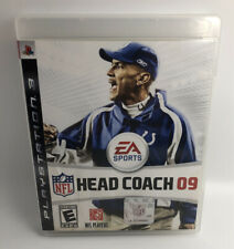 NFL Head Coach 09 PS3 (Sony PlayStation 3, 2008) FAST FREE SHIPPING - Complete