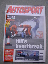 Autosport (15 July 1993) British Grand Prix, Johnny Herbert,Silverstone BTCC, F3