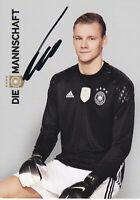 Bernd LENO - DFB-Nationalspieler, DFB-Karte EM 2016, Original-Autogramm!
