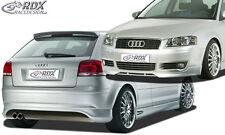 RDX Bodykit Audi A3 8P 03-06 Spoiler-Set Front Heck Ansatz Seitenschweller