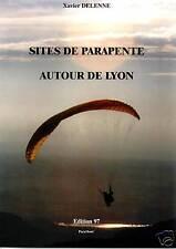 """Livre """"Sites de parapente autour de Lyon"""""""