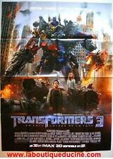 TRANSFORMERS 3 THE DARK SIDE OF THE MOON Affiche Cinéma / Movie Poster MEGAN FOX