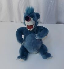 Disney Store Jungle Book Baloo Bear Plush Doll Stuffed Animal Blue