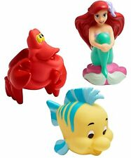 Baby Bath Toys Squirt The First Years Disney Little Mermaid Colorful Girls 3 Pc