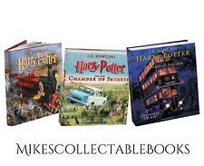 Harry Potter Sorcerer's Stone Chamber of Secrets Prisoner of Azkaban illustrated