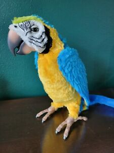 FurReal Friends Talking Squawkers McCaw Parrot Only - NO REMOTE Tested & Working