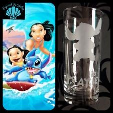 Personalised Disney Stitch Handmade Glass FREE Name Engraved! Lilo And Stitch