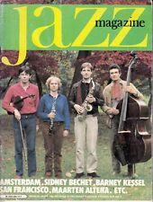 """MAGAZINE """"JAZZ MAGAZINE N° 295 MARS 1981 """" (SIDNEY BECHET BARNEY KESSEL ..... )"""