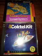 PC Spiele / Lernsoftware: Der Zauberschulbus Im Sonnensystem + Coktel Kit