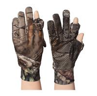 Bionic Camouflage Full Finger Gloves Anti-slip for Outdoor Hunting Autumn Winter