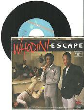 """Whodini, Escape, G/G,  7"""" Single, 999-930"""