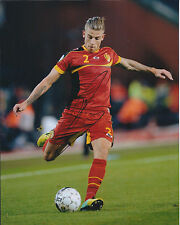 Toby ALDERWEIRELD Signed Autograph Photo AFTAL COA Belgium Athletico Madrid RARE