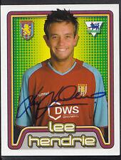 Merlin Football Sticker- 2005 Premier League - No 46 - Aston Villa - Lee Hendrie