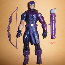 "HAWKEYE figure MARVEL LEGENDS 6"" series AVENGERS clint barton toy"