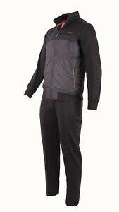HUGO BOSS  MEN TRACKSUIT NEW EA7 SWEATSHIRT + PANTS LOGO SIZES : M/L/XL/2XL/3XL