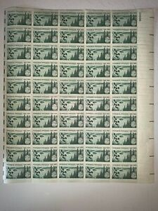 US Stamps SC# 1106 Minnesota Statehood 3c sheet of 50 MNH 1958