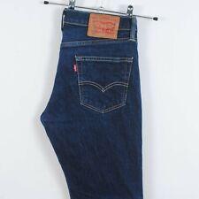 Mens Levis 511 Slim Fit Jeans in Dark Blue Red Tab W31 L30