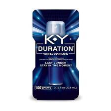 K-Y KY Duration Spray for Men Last Longer & Stay in Moment 100 sprays Exp 10/18