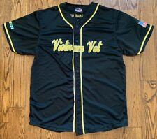 Vietnam Veteran Baseball Jersey Size Xl