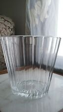 Vintage Imperial Crystal Large Heavy Lead Champagne Wine Cooler Ice Bucket mark