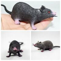 Joke Fake Rubber Plastic Rats Mouse Tricks Pranks Props Toy Children Hallowen