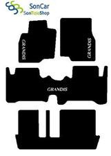 MITSUBISHI GRANDIS 7 PLACES tapis de voiture arrière unis + 4blocs + 3 décors