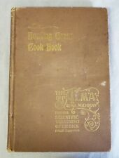 RARE Antique 1898 CULINARY ARTS FOR ALL HOUSEKEEPERS Bowling Green COOKBOOK