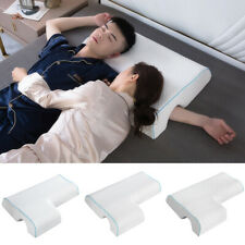 Memory Foam Couples Pillow Arched Cuddle Pillow Breathable for Couples Sleeping