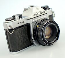 Pentax K1000 35mm Film Camera + Pentax-M 50 mm lens Kit #7716528