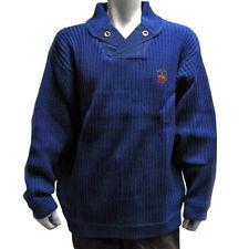 Señores Troyer Sweater suéter jersey de punto manga larga XXL m cuero-Optik uso