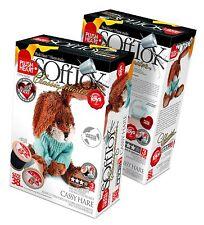 make your own soft toy ELF457003 Plush Hearts DIY Plush Sitting Rabbit 38cm high