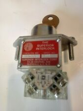 YALE / THE SUPERIOR INTERLOCK ELECTRIC KEY SWITCH SQUARE D CONTACTS S105840Y KA1