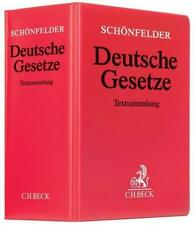 Deutsche Gesetze von Heinrich Schönfelder (2018, Kunststoff-Ordner)
